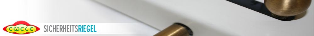patentierter CWELE Sicherheitsriegel